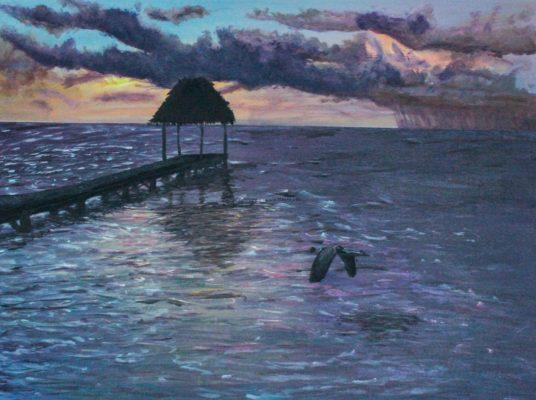Sunrise Palapa dock - $599